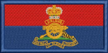 Royal Artillery embroidered Flash